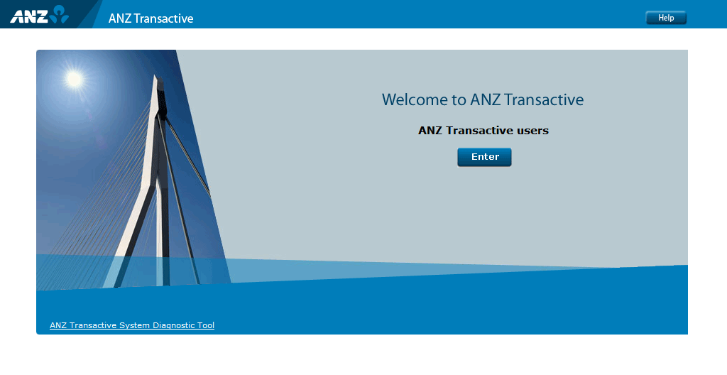 ANZ Transactive CMP Welcome