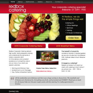 Web Redbox desktop home