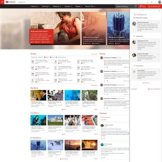 UTAS Intranet Home Release 2