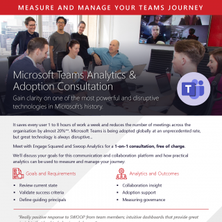 Teams Analytics flyer