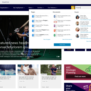 Sports Australia Instant Search Desktop