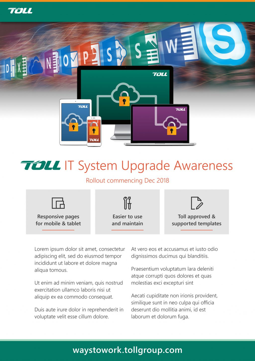Toll A3 Poster - Devices