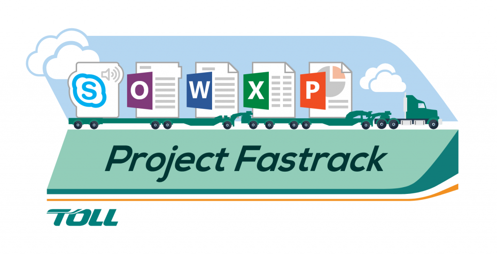 Toll Campaign Illustration - Project Fastrack