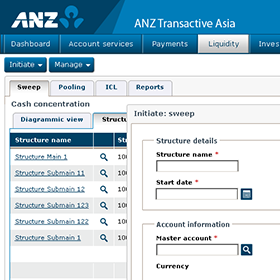 ANZ Transactive Asia initiate sweep