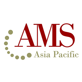 Brand design: AMS Asia Pacific logo (subsidiary of IBM)