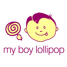 Brand design: My Boy Lollipop Confectionery logo
