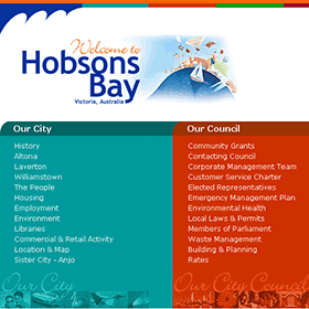 City of Hobsons Bay home